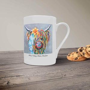 Mrs Toby Mori McCoo- Bone China Mug