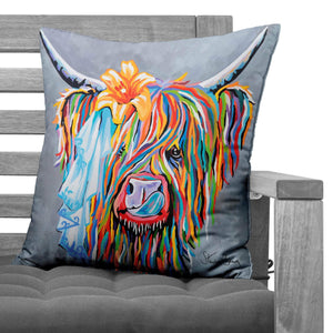 Mrs Toby Mori McCoo - Faux Suede Cushions