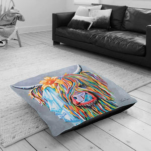 Mrs Toby Mori McCoo - Floor Cushion