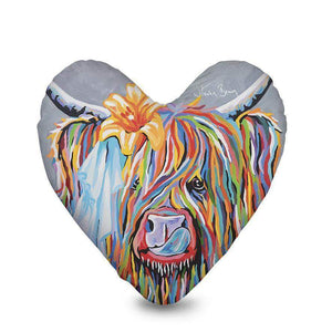 Mrs Toby Mori McCoo - Heart Cushion