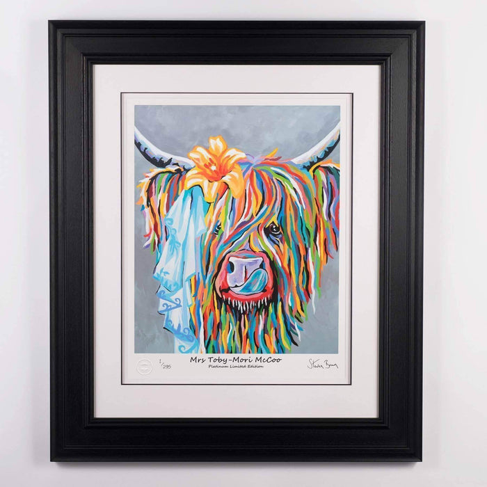 Mrs Toby Mori McCoo - Platinum Limited Edition Prints