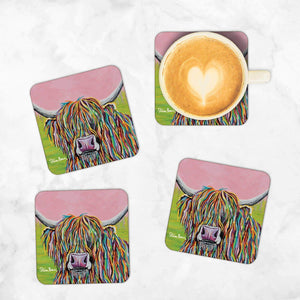 Nan McCoo - Set of 4 Coasters