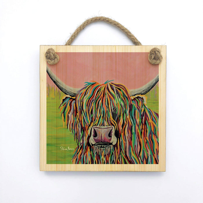 Nan McCoo - Wooden Wall Plaque