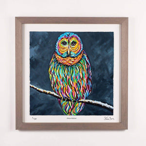 Ollie McOwl - Framed Limited Edition Floating Prints