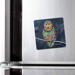 Ollie McOwl - Fridge Magnet
