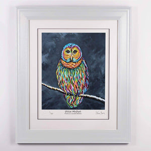 Ollie McOwl - Platinum Limited Edition Prints