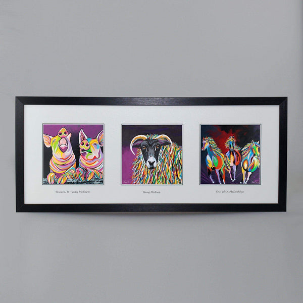 On The Farm Collection - Triptych
