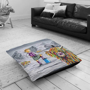 Oor Wullie Big Tam McCoo - Floor Cushion