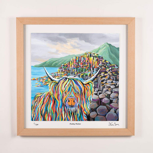 Paddy McCoo - Framed Limited Edition Floating Prints