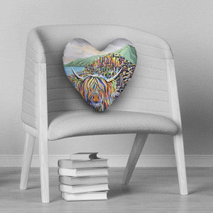 Paddy McCoo - Heart Cushion