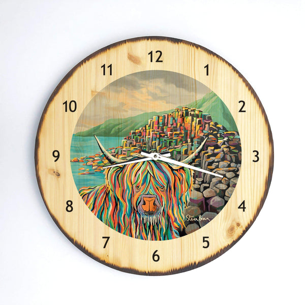 Paddy McCoo - Wooden Clock