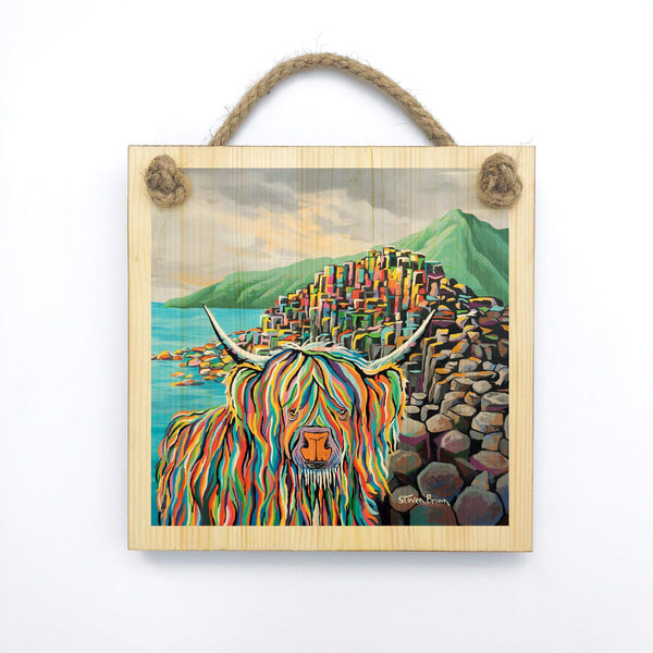 Paddy McCoo - Wooden Wall Plaque