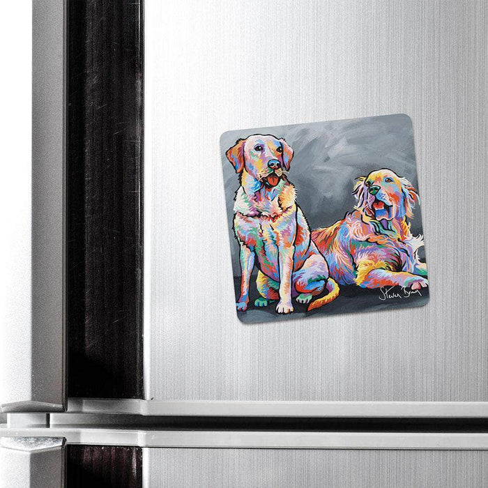 Paul & Linda McDug - Fridge Magnet