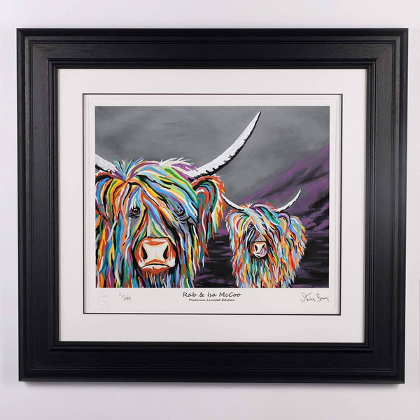 Rab and Isa McCoo - Platinum Limited Edition Prints