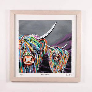 Rab & Isa McCoo - Framed Limited Edition Floating Prints