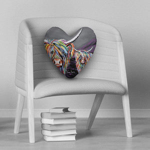 Rab & Isa McCoo - Heart Cushion