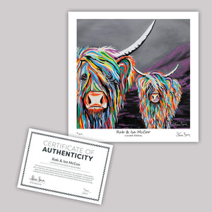 Rab & Isa McCoo - Mini Limited Edition Print