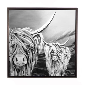 Rab & Isa McCoo The Noo- Framed Limited Edition Aluminium Wall Art