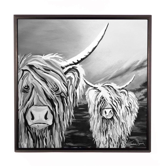 Rab & Isa McCoo The Noo - Framed Limited Edition Aluminium Wall Art