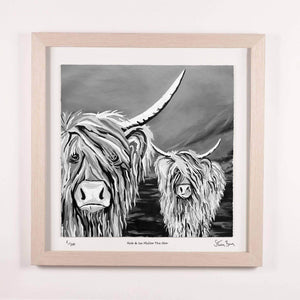 Rab & Isa McCoo the Noo - Framed Limited Edition Floating Prints