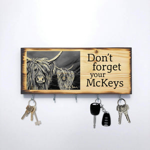 Rab & Isa McCoo The Noo - McKey Holder