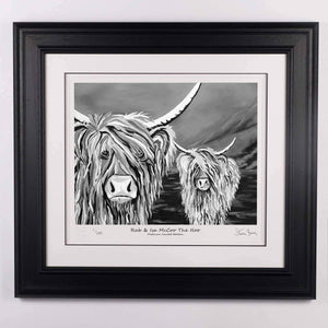 Rab & Isa McCoo The Noo- Platinum Limited Edition Prints