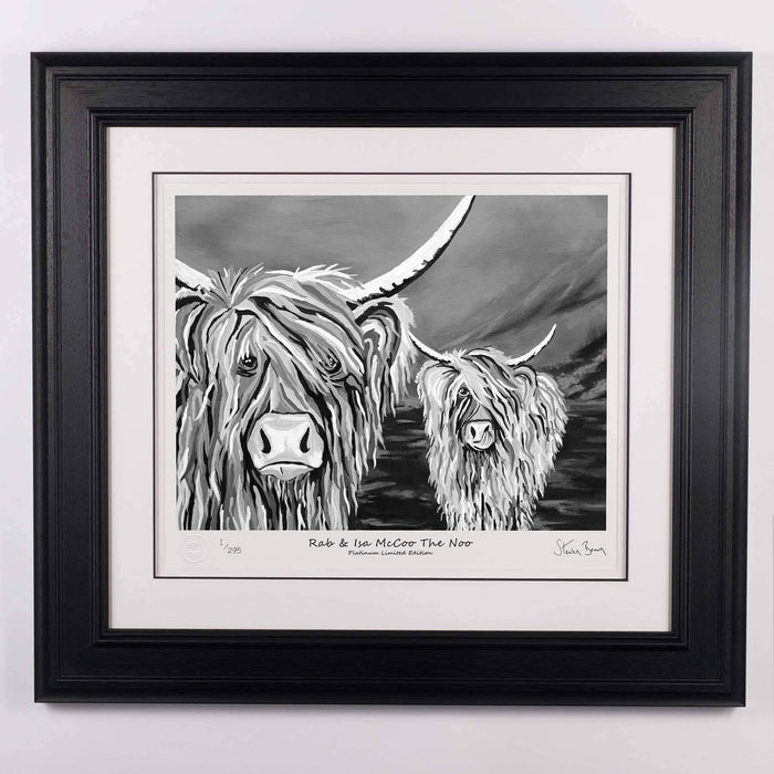 Rab & Isa McCoo The Noo - Platinum Limited Edition Prints
