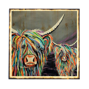 Rab & Isa McCoo - Timber Print