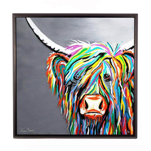 Rab McCoo - Framed Limited Edition Aluminium Wall Art