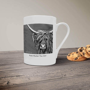 Rab McCoo The Noo - Bone China Mug