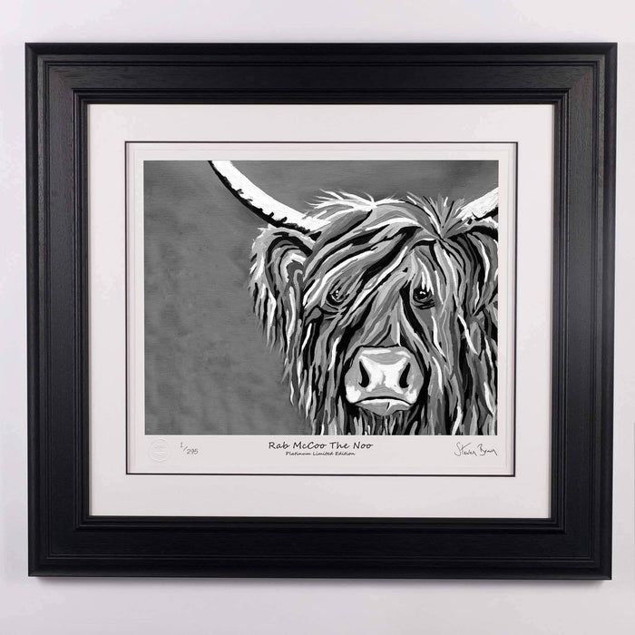 Rab McCoo The Noo - Platinum Limited Edition Prints