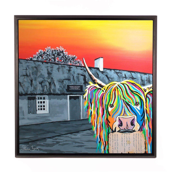 Rabbie McCoo- Framed Limited Edition Aluminium Wall Art