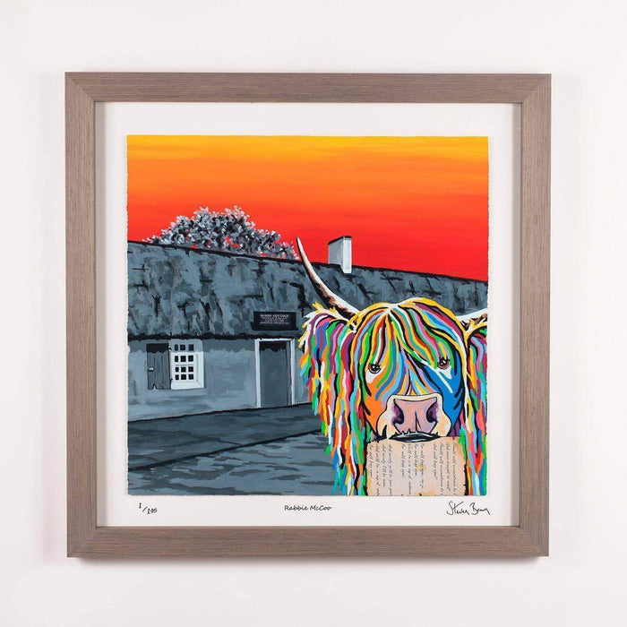 Rabbie McCoo - Framed Limited Edition Floating Prints
