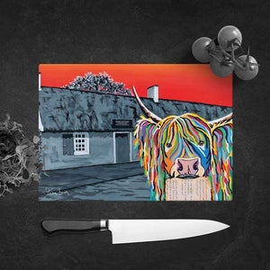 Rabbie McCoo - Glass Chopping Board