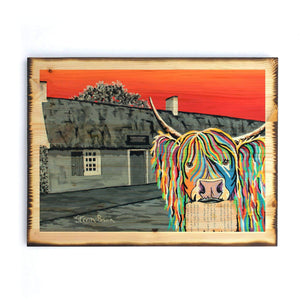 Rabbie McCoo - Timber Print