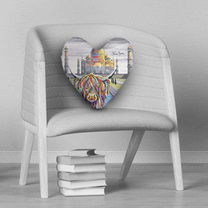 Ruby McCoo - Heart Cushion