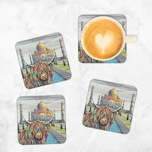 Ruby McCoo - Set of 4 Coasters