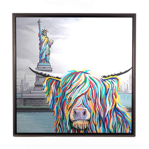 Sam McCoo - Framed Limited Edition Aluminium Wall Art
