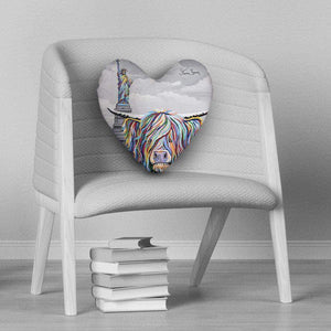 Sam McCoo - Heart Cushion