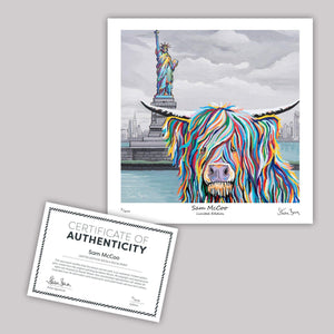 Sam McCoo - Mini Limited Edition Print