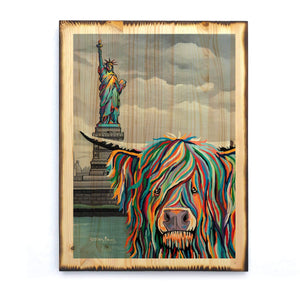 Sam McCoo - Timber Print