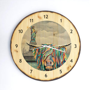 Sam McCoo - Wooden Clock