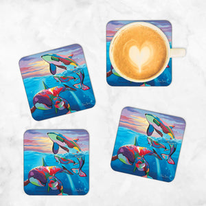 Save the Ocean Families - Coasters