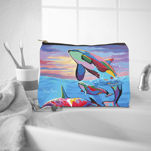 Save the Ocean Families - Cosmetic Bag