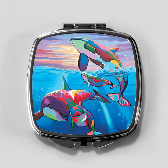 Save the Ocean Families - Cosmetic Mirror