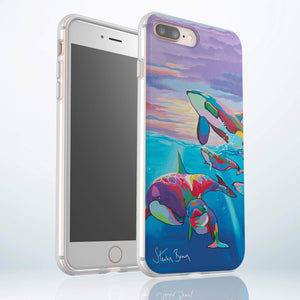 Save the Ocean Families - Flexi Phone Case