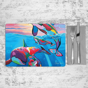 Save the Ocean Families - Placemat