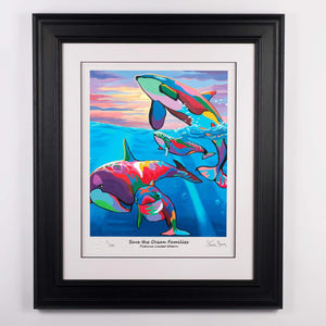 Save the Ocean Families - Platinum Limited Edition Prints