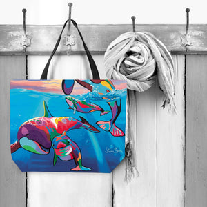 Save the Ocean Families - Tote Bag