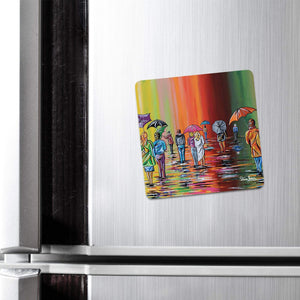 Scottish Autumn - Fridge Magnet